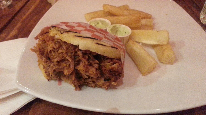 Bocadillo - Montreal Restaurant - Venezuelan restaurant - Yuca fries - arepa