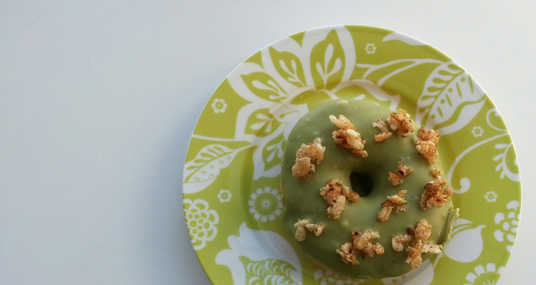 Trou de Beigne - Green Tea Donut - Made in Montreal