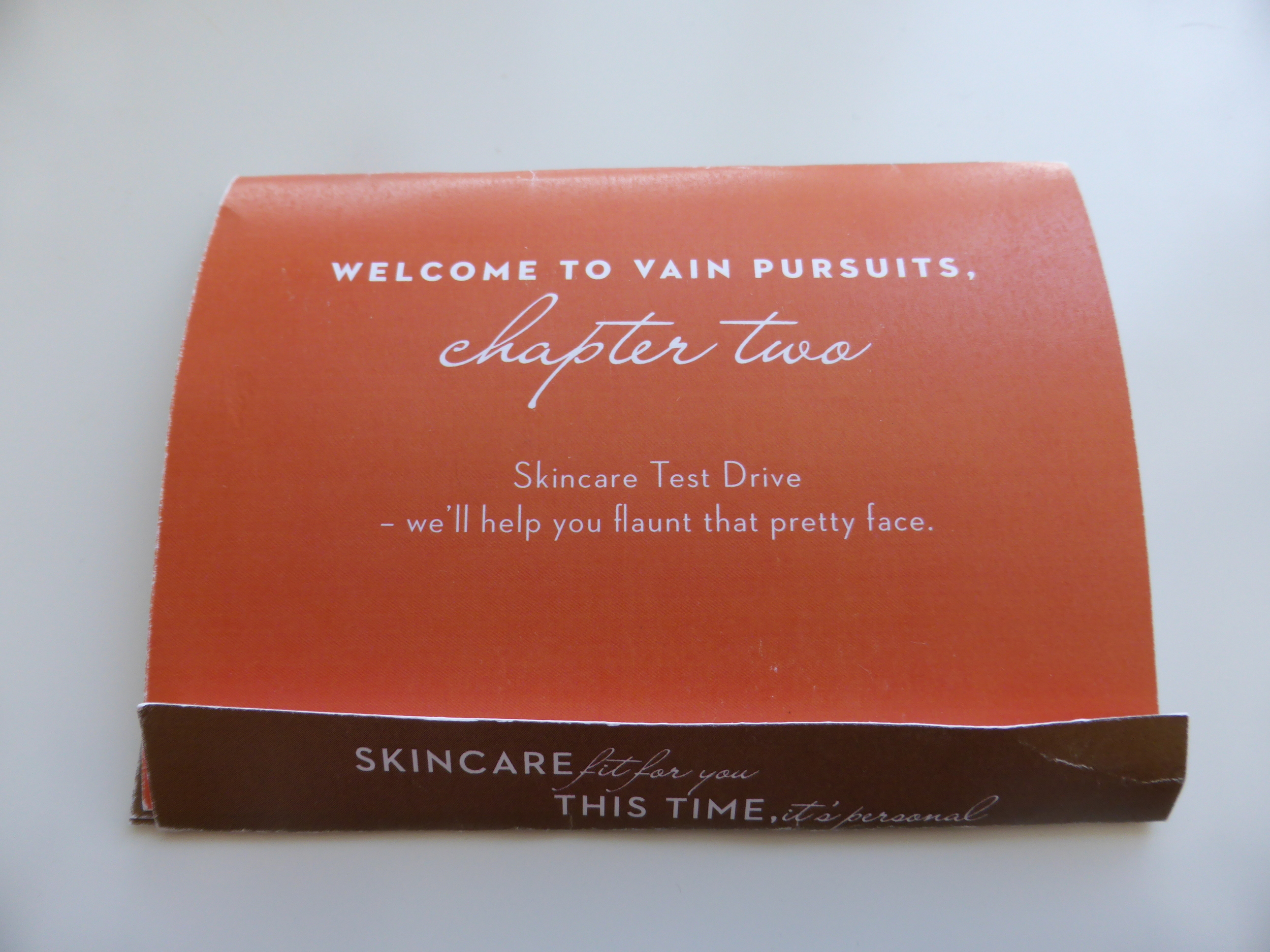Vain Pursuits Custom Skincare - Test Drive - Made in Montreal