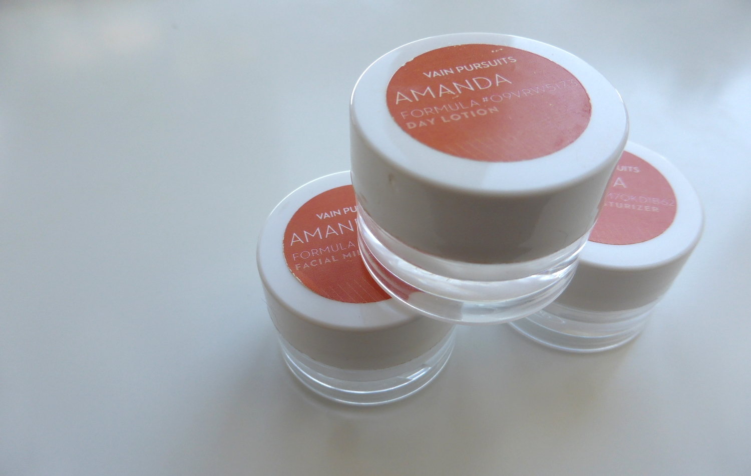 Vain Pursuits Custom Moisturizers - Made in Montreal