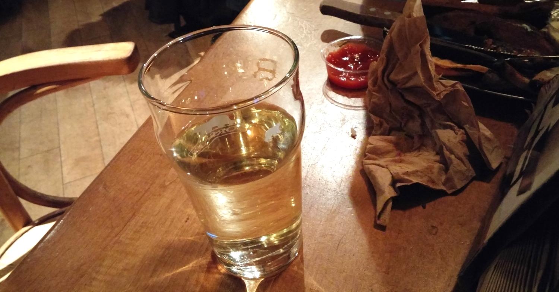 L'auberge du dragon rouge - cidre - cider- white velvet - montreal restaurants - my girl montreal