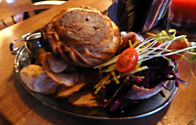 L'auberge du dragon rouge - tourte de sanglier - montreal restaurants - my girl montreal