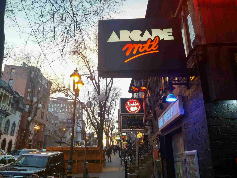 arcade mtl bar - montreal bar - barcade - mygirlmontreal - montreal blog - saint-denis - quartier latin