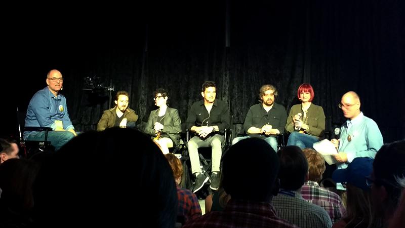 TV Game Changers  1) Tom & Tony Bancroft (moderators) 2) Craig McCracken 3) Lauren Faust 4) Butch Hartman 5) Rebecca Sugar 6) Alex Hirsch