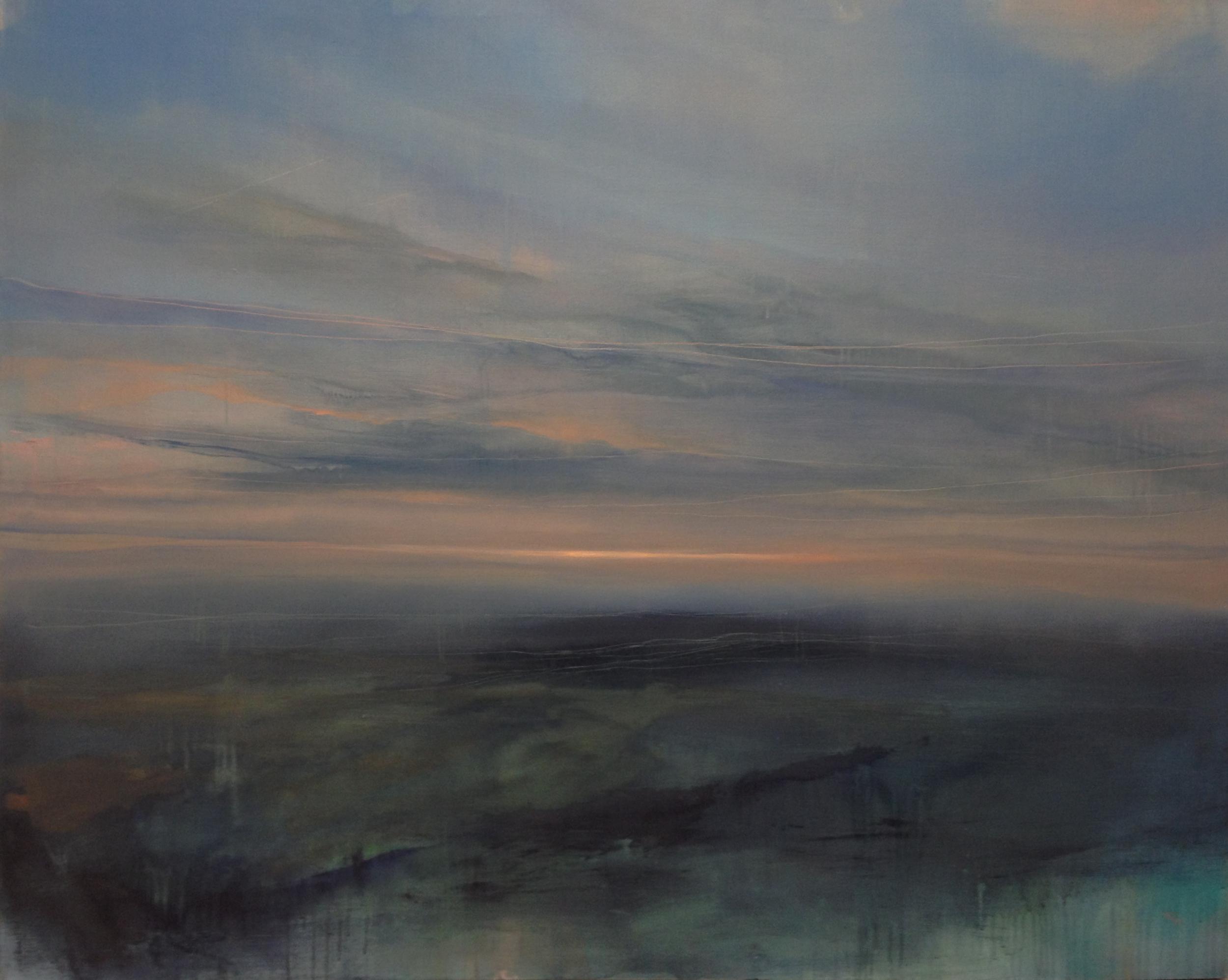 "Dreams of Flight,  o il on canvas, 48 x 60"""