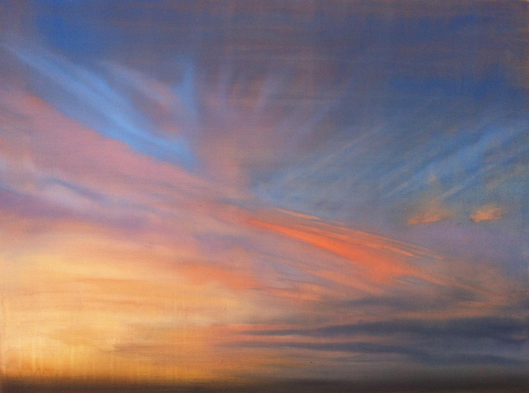 "Wide Awake,  o il on canvas, 36 x 48"""