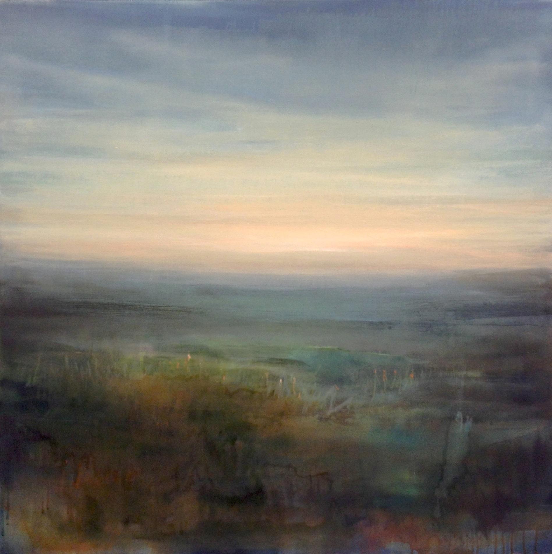 "Solitude , oil on canvas, 36 x 36"""