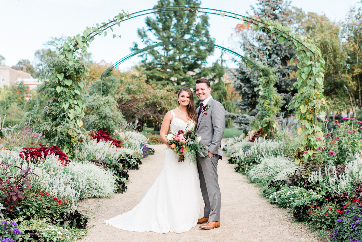 Garfield Park Conservatory Wedding.Featured Wedding Three Brittany Bekas Photography