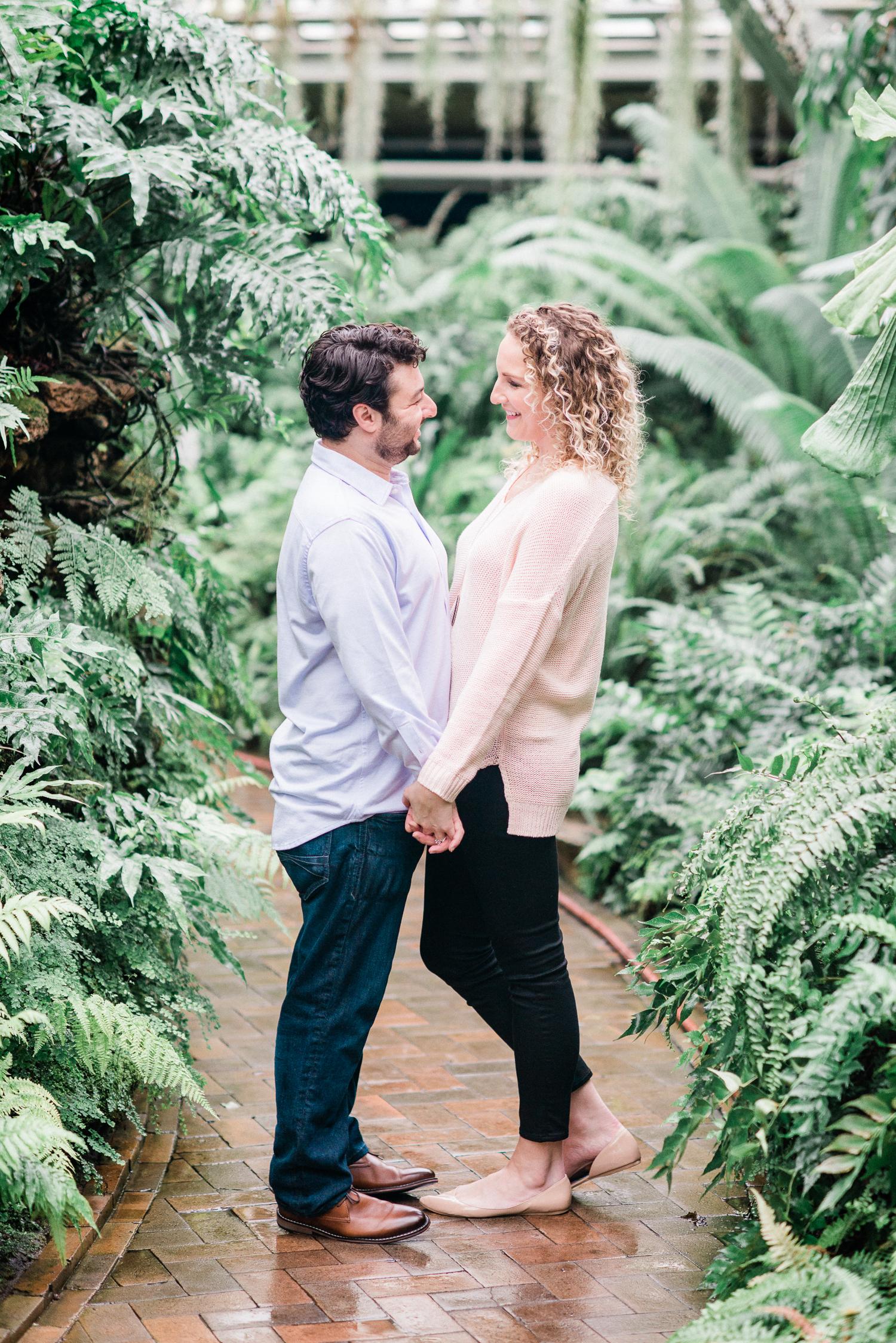 Brittany Bekas - Garfield Park Conservatory Chicago Engagement Photos-2.jpg
