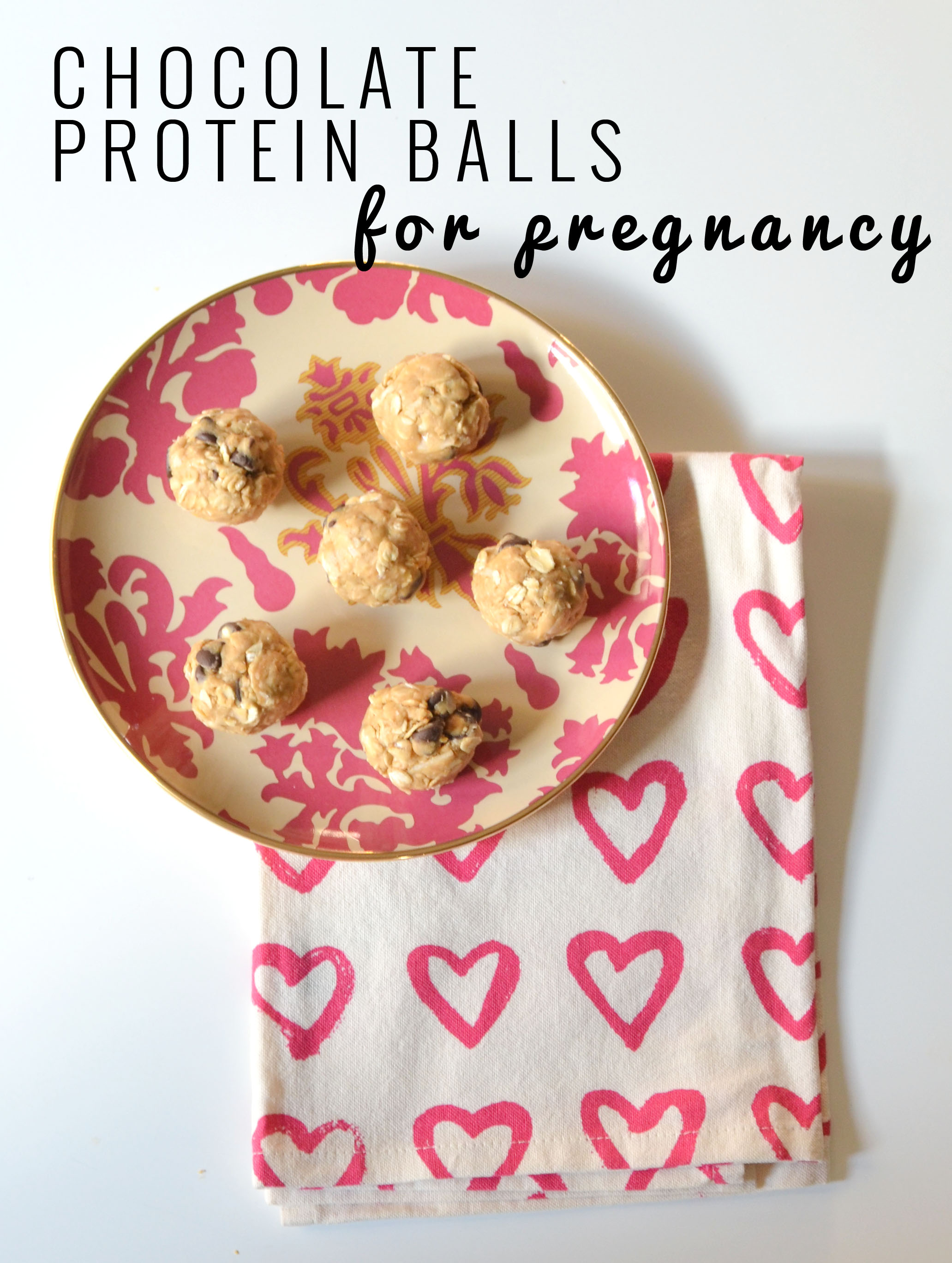 Chocolate Pregnancy Protein Ball Recipe | Momma Society | www.mommasociety.com