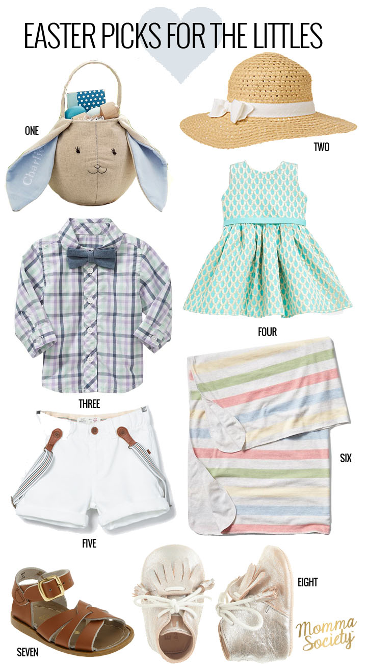 Easter Outfit Picks for Babies and Kids