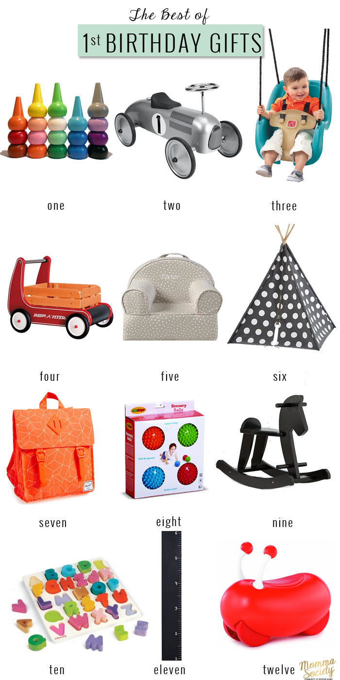 The Best of First Birthday Gifts For The Modern Baby   Momma Society-The Community of Modern Moms   www.mommasociety.com   Join our Instagram Party @mommasociety