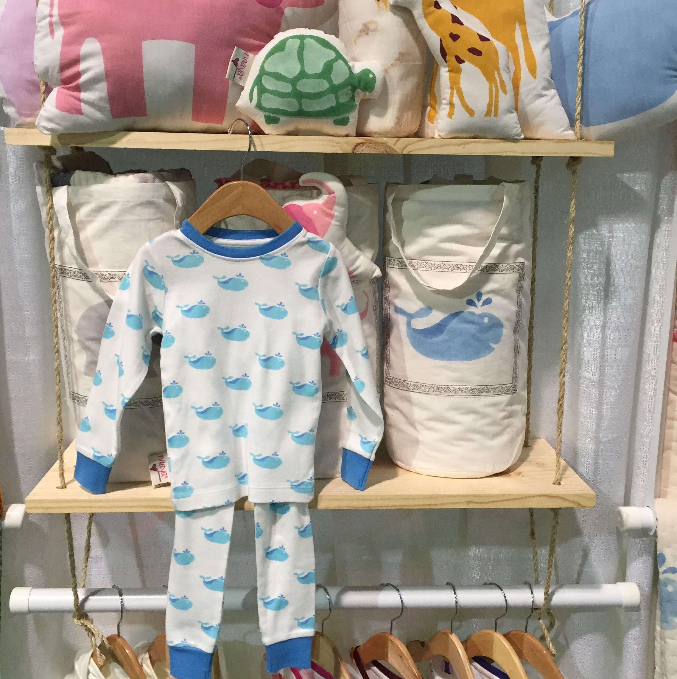 Top Baby Gear Trends for 2016 Block Printing Naaya by moonlight | Momma Society-The Community of Modern Moms | www.mommasociety.com | Join our community on Instagram @MommaSociety