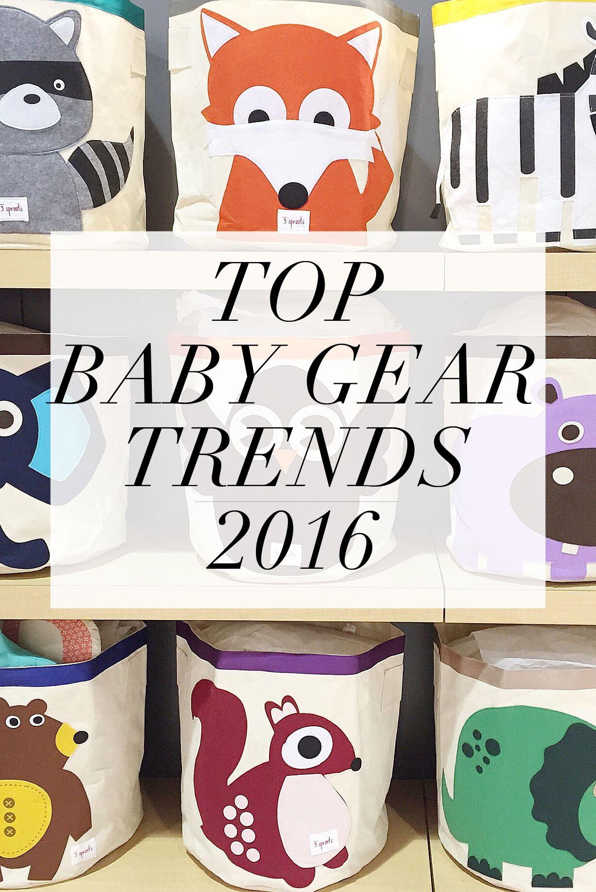 Top Baby Gear Trends for 2016  | Momma Society-The Community of Modern Moms | www.mommasociety.com | Join our community on Instagram @MommaSociety