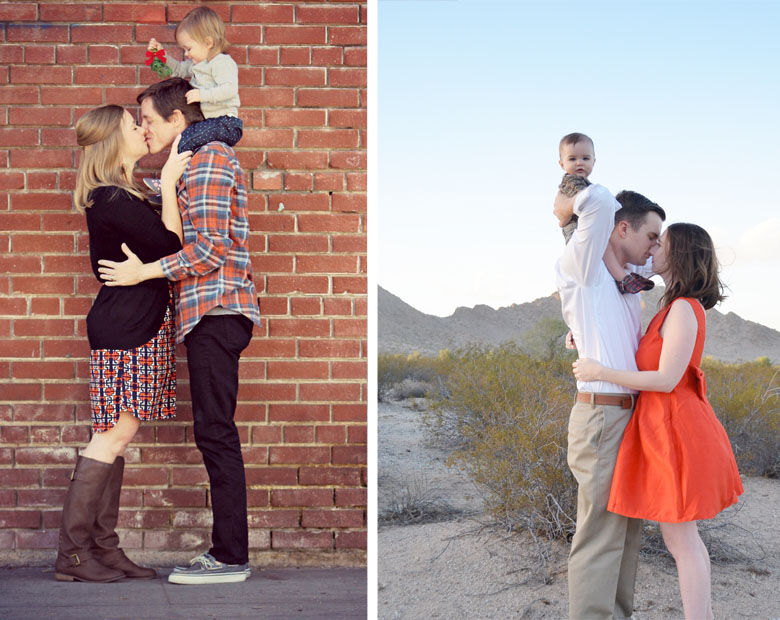 How to Take your own Holiday Family Photos