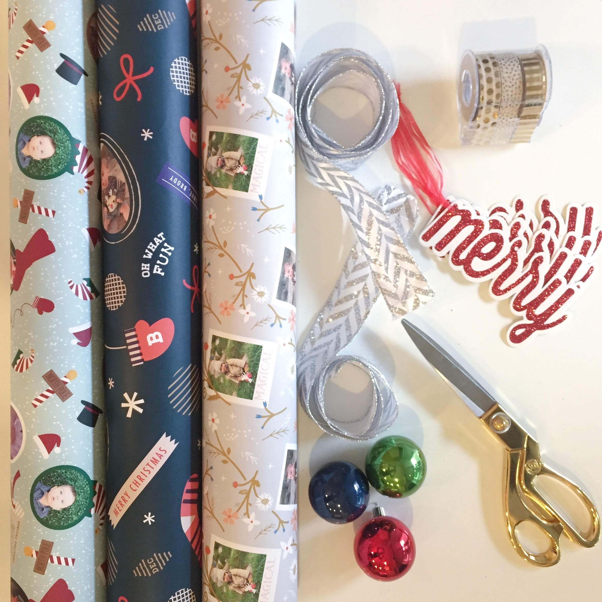 Personalized Wrapping Paper | Momma Society-The Community of Modern Moms | www.MommaSociety.com