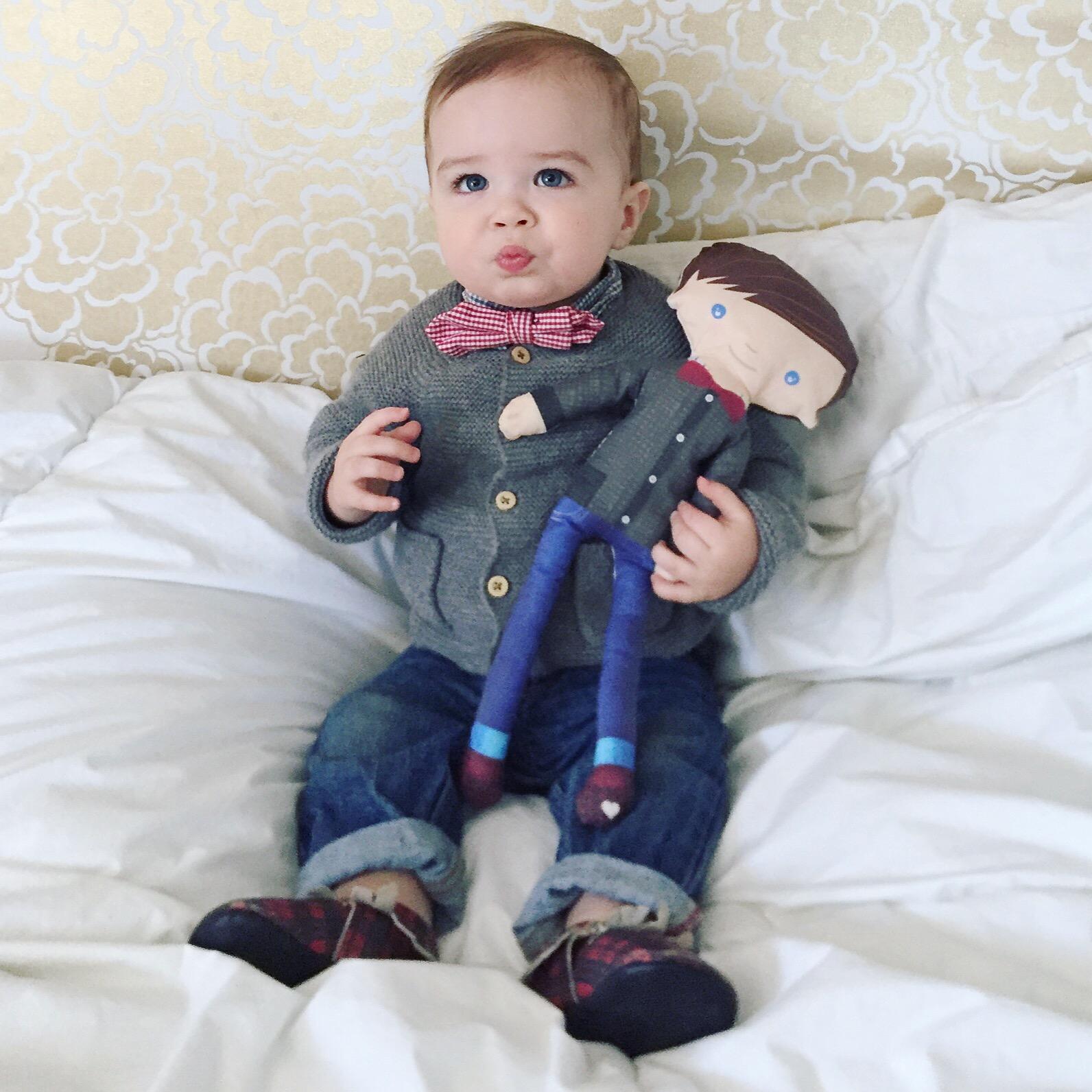 Personalized Handmade Baby Dolls from Etsy   #mrbrodyparker   Momma Society-The Community of Modern Moms