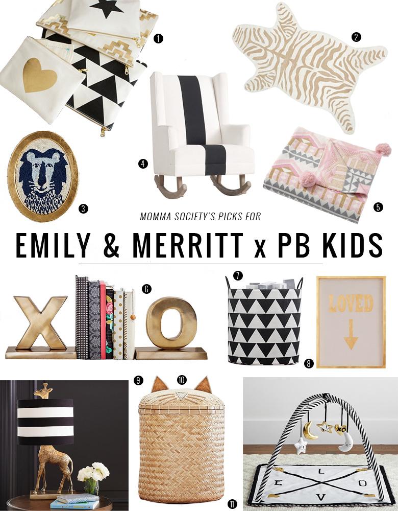 Emily & Merrit Collection for Pottery Barn Kids | Momma Society-The Community of Modern Moms