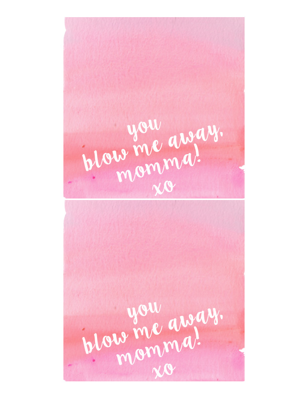 You Blow Me Away Momma Valentine Card | Momma Society-The Community of Modern Moms