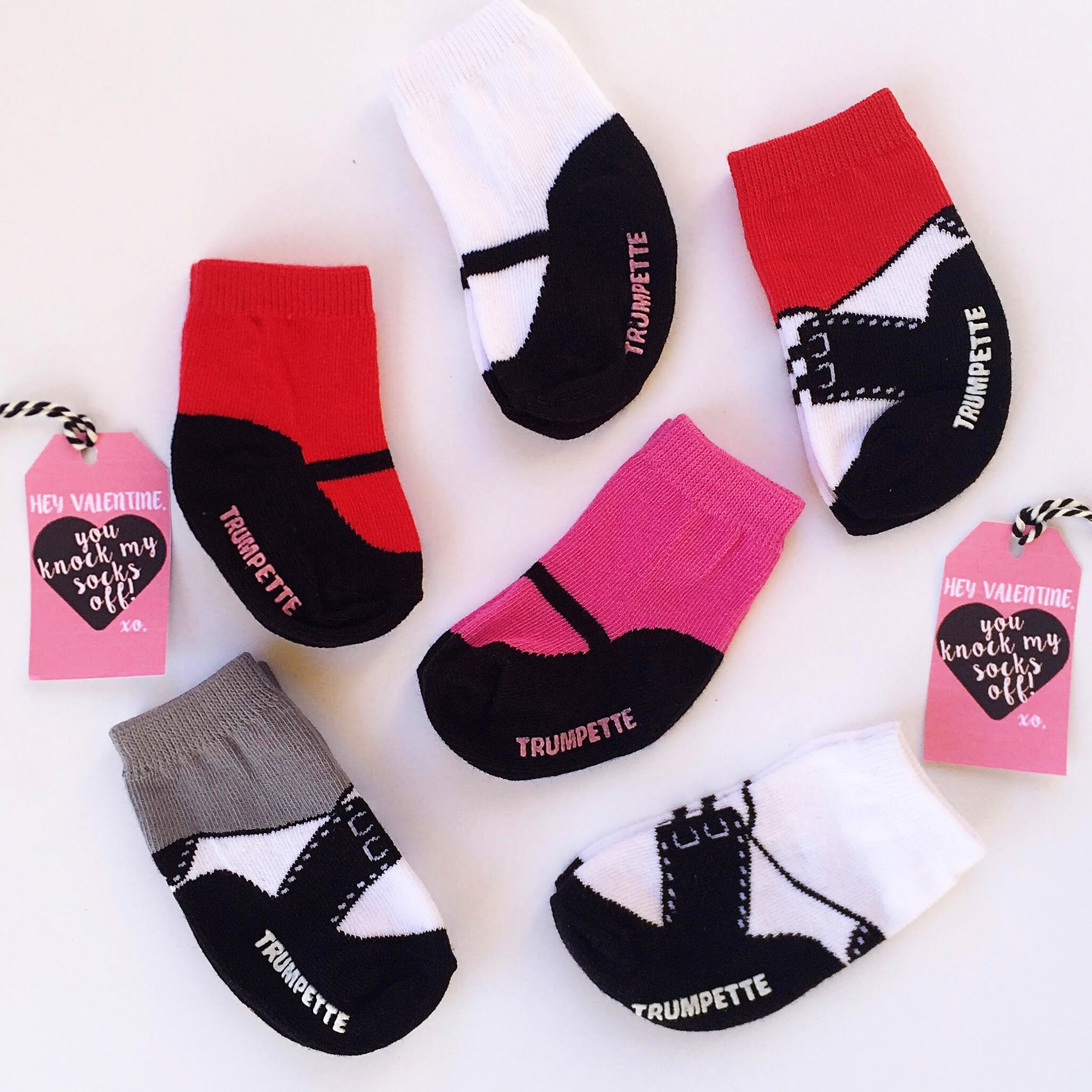 Valentines Day Knock My Socks Off Sock Printable | Momma Society-The Community of Modern Moms