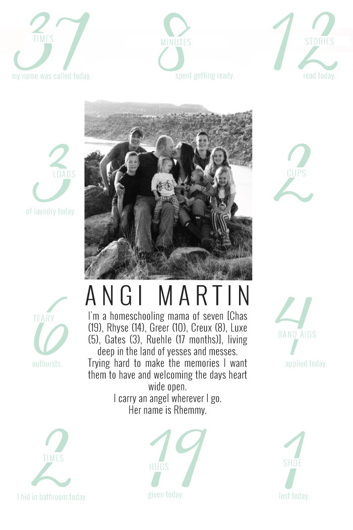A Day In the Life of Angie Martin | Momma Society-The Community of Modern Moms | www.MommaSociety.com