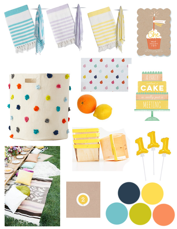 How to Plan A First Birthday Party | Momma Society--The Community of Modern Moms | www.MommaSociety.com