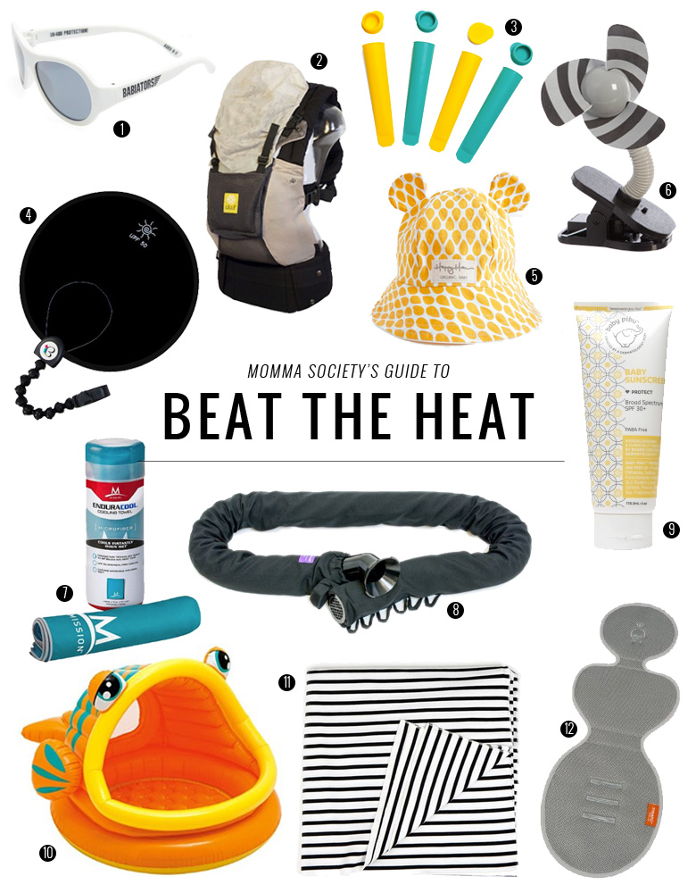 12 Must-Haves to Keep Your Baby and Toddler Protected from The Sun | Momma Society-The Community of Modern Moms | www.MommaSociety.com