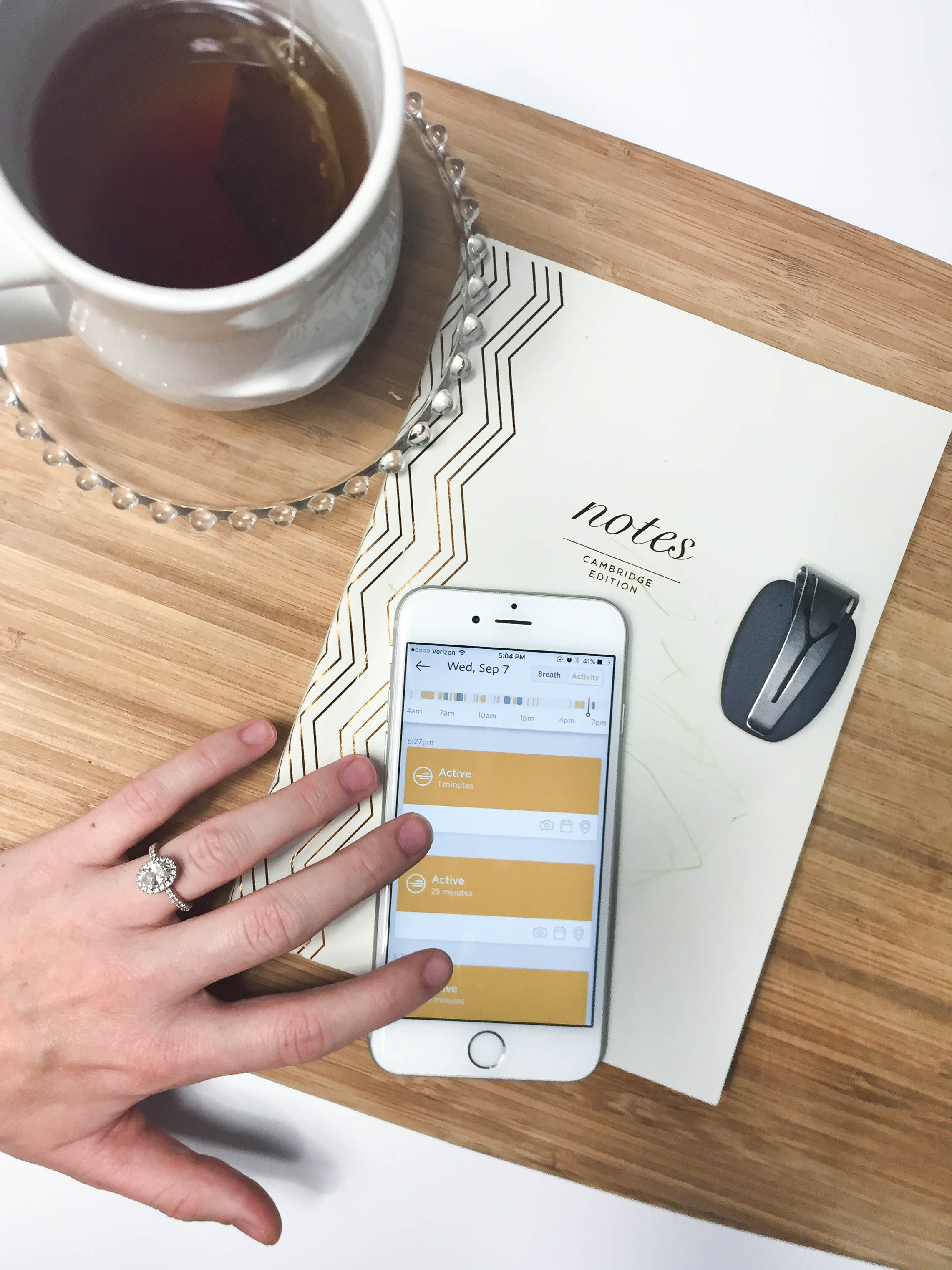 Spire Activity Tracker Review + a Miracle Morning Routine Challenge