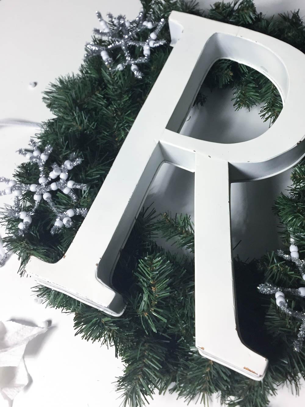 Toddler Snowflake Craft Ornament