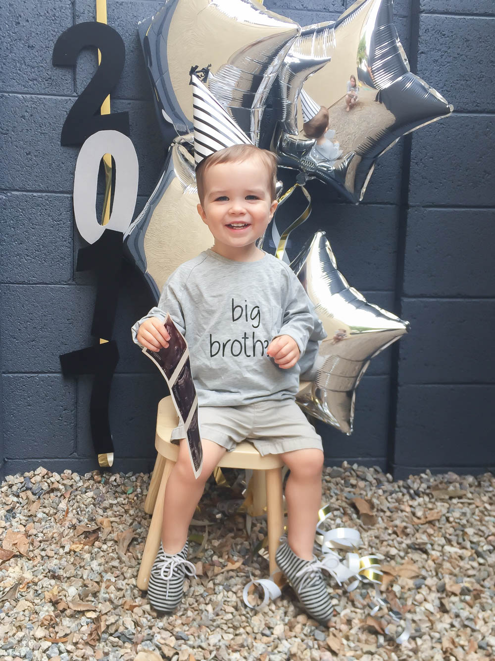 New Years Pregnancy Announcement | Sibling Pregnancy Announcement | Momma Society