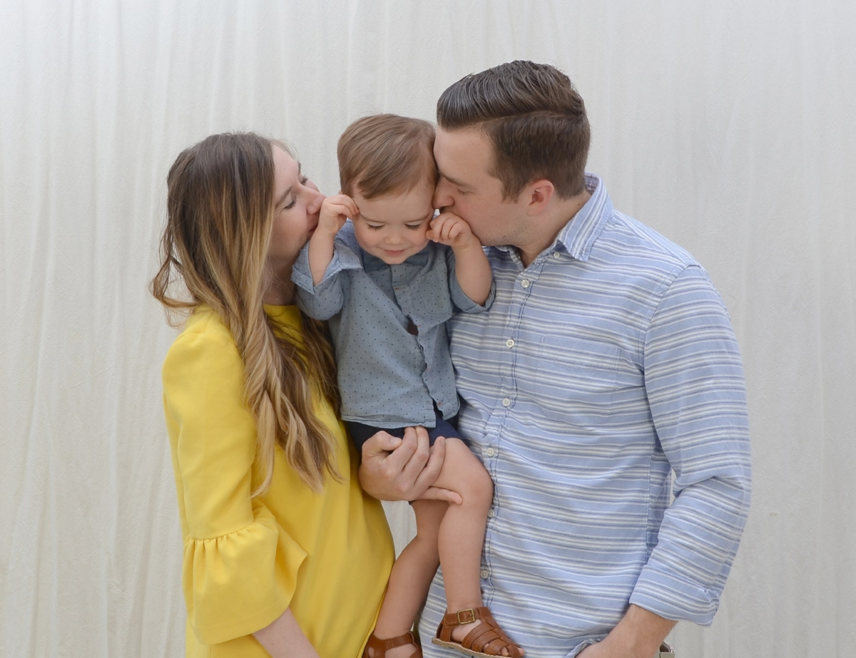 Our Spring Family Photos with Portrait Innovations
