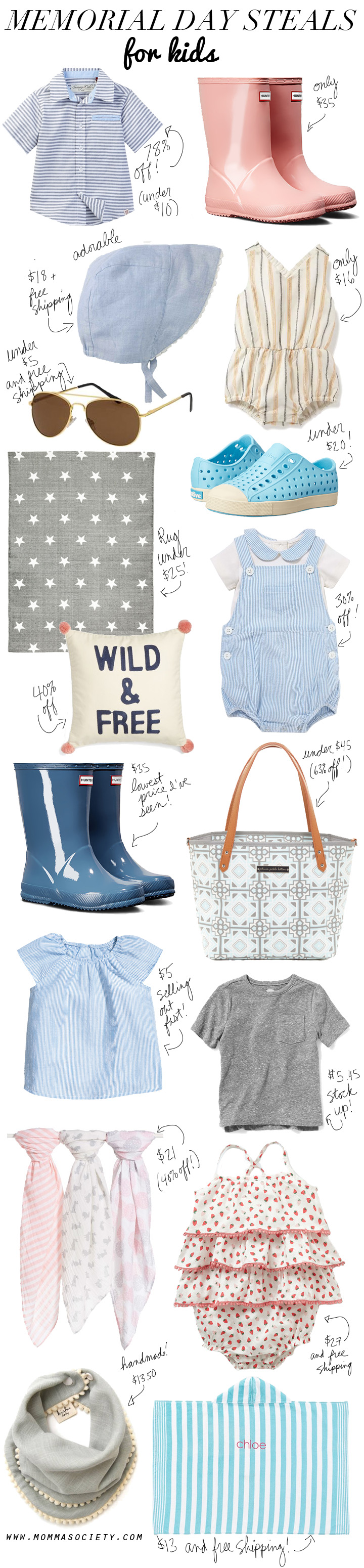 The Best Memorial Day Sales & Steals For Kids & Baby