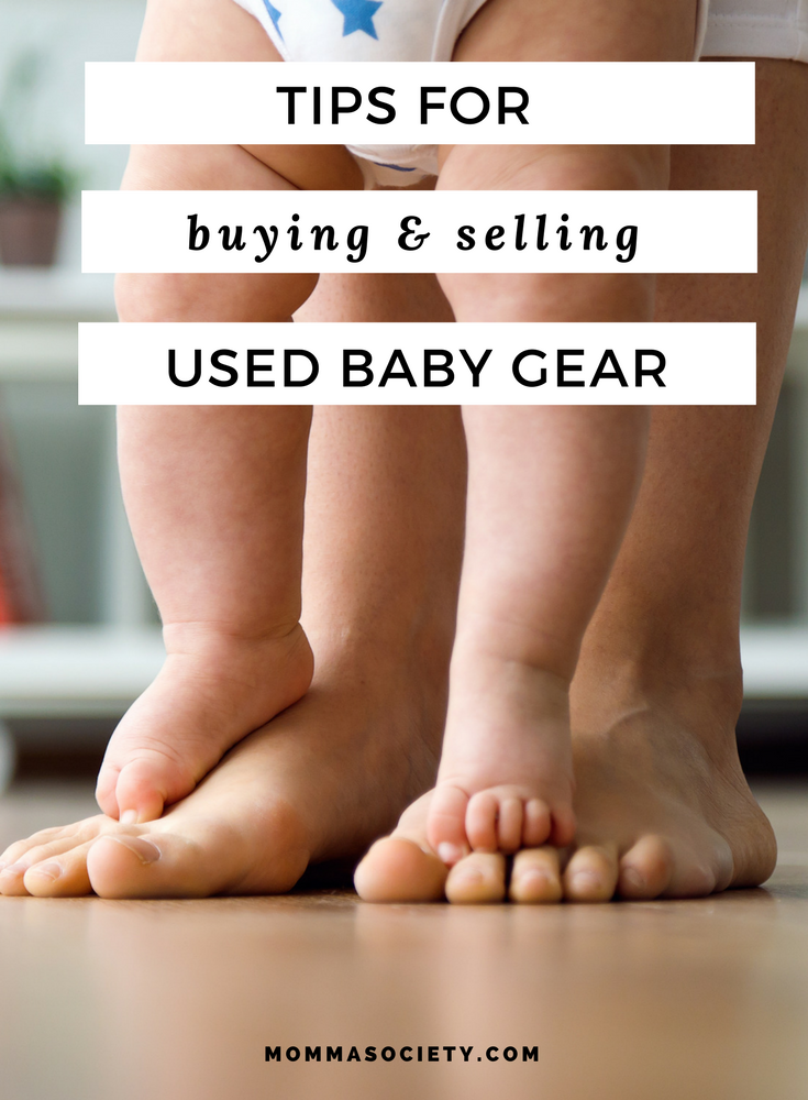 Tips for Buying and Selling Pre-Owned Baby Gear | Baby Gear Must-Haves | Baby Gear Essentials