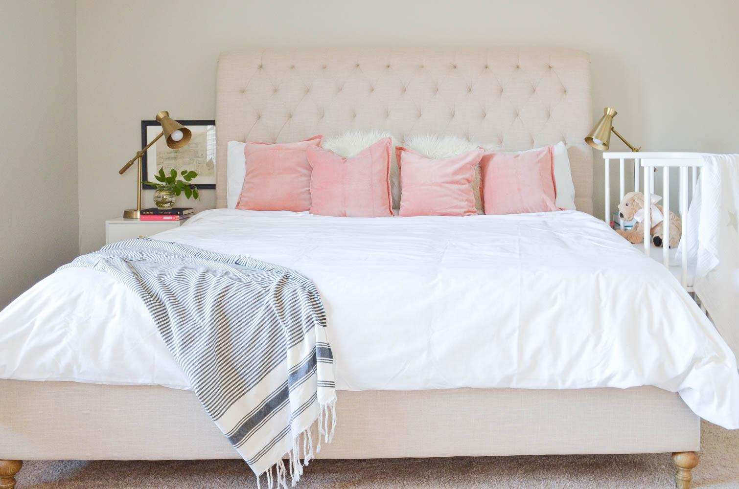 Master Bedroom | CoSleeping Bedroom | CoSleeping | Newborn | Night Stand