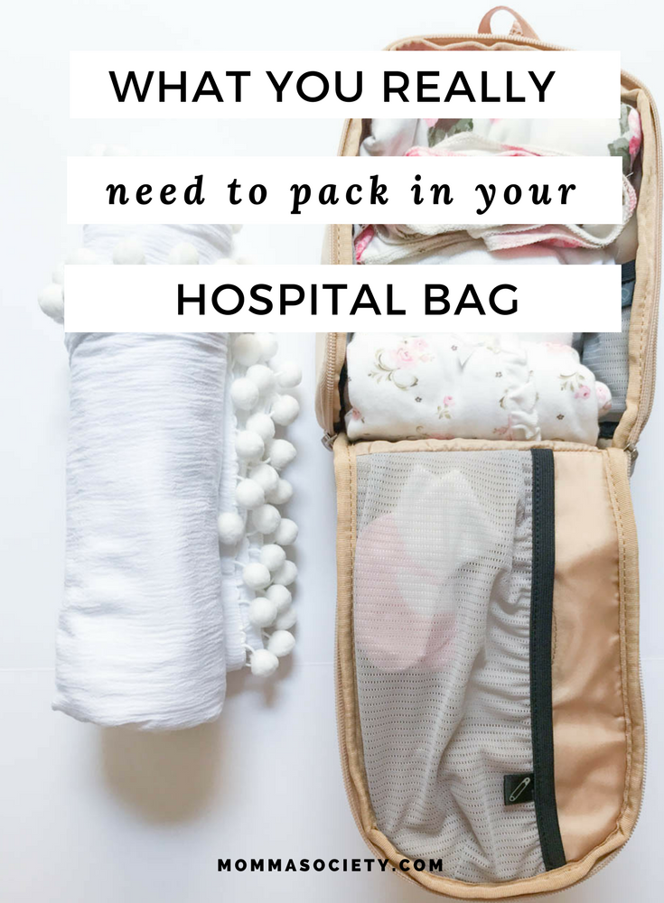 What to Pack in Hospital Bag | Mom Hospital Bag | Baby Hospital Bag | Hospital Bag Check-list
