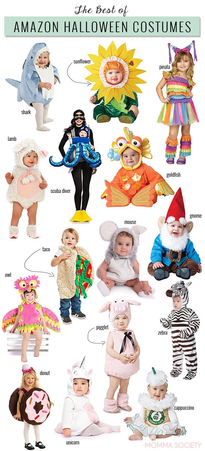 Best Halloween Costumes on Amazon | Toddler & Baby Halloween costumes | Costume Ideas | Halloween Costumes Infant | Halloween Costumes Family