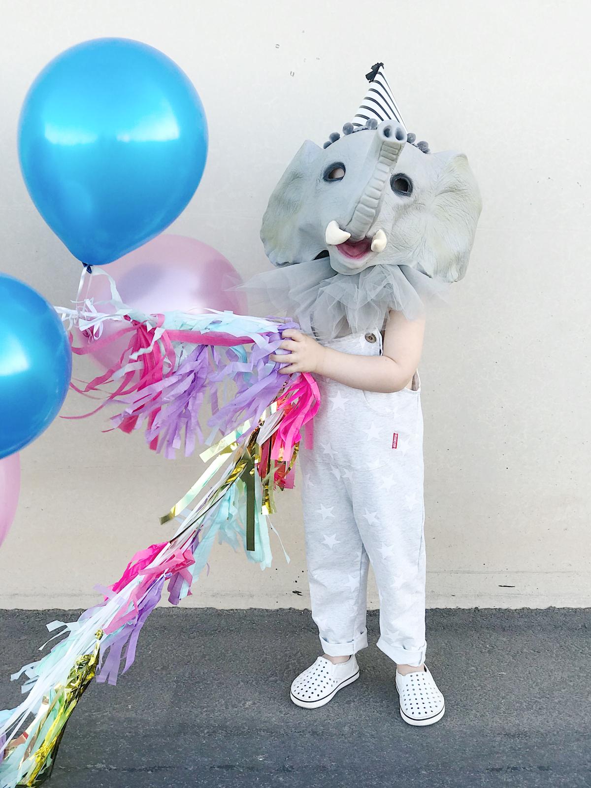 Halloween Easy Elephant Circus Family Costume