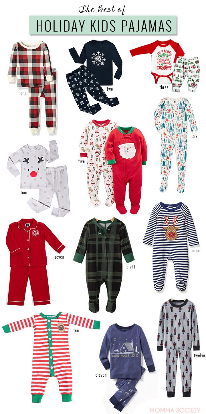 Cute Kids Holiday Pajamas.jpg