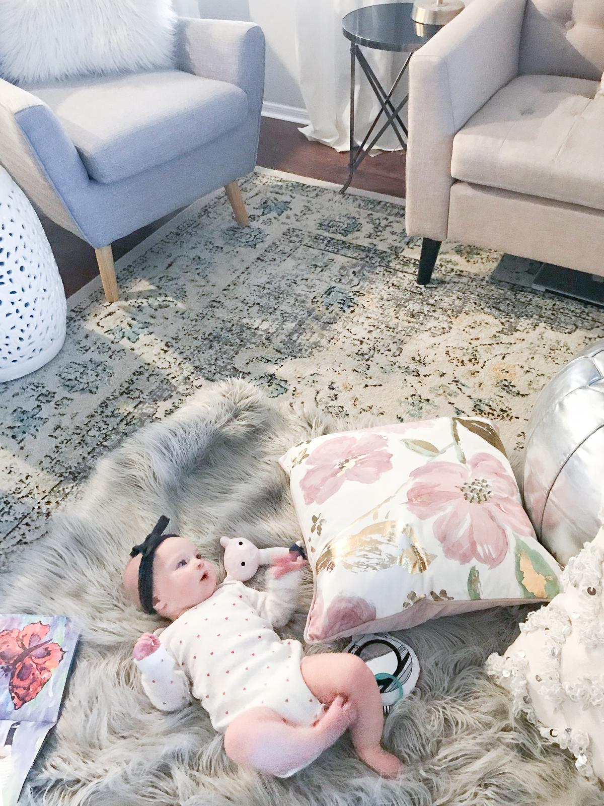 Living Room Design | Living Room Inspiration | Kid Friendly Living Room