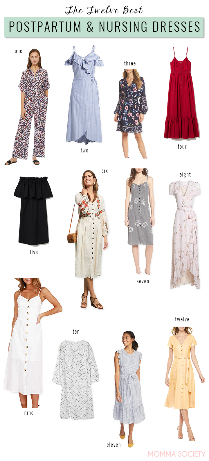 Best Nursing and Postpartum Dresses