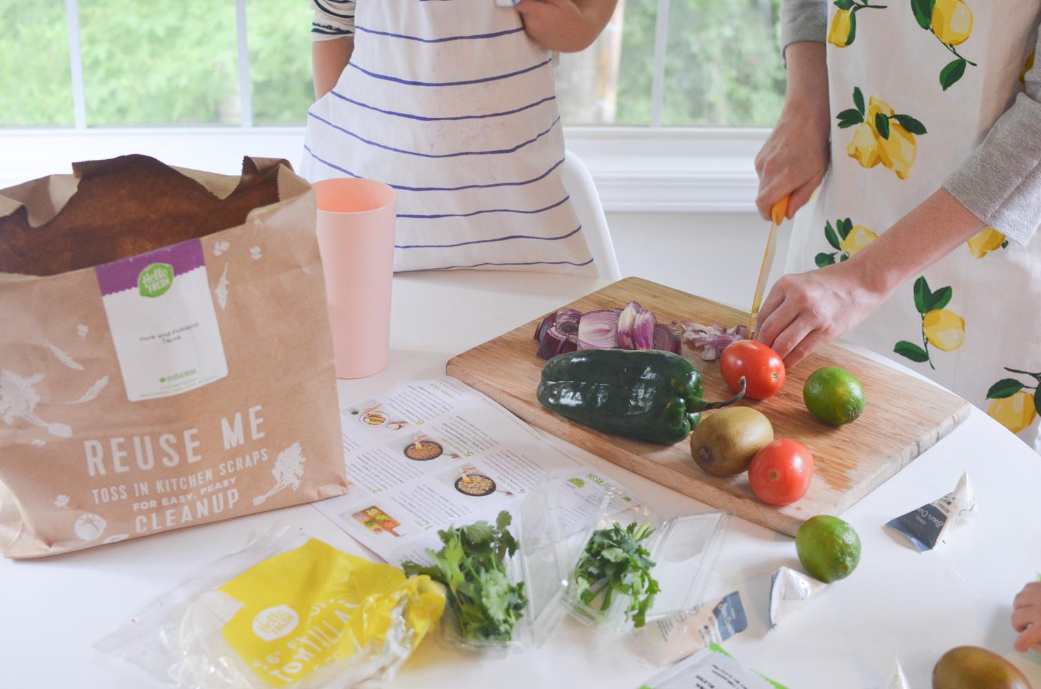 HelloFresh Review Taste Test Easy Dinner