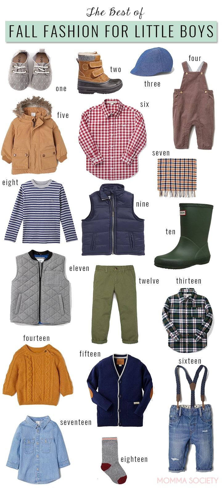 Best of Fall Fashion for Toddler and Baby Boys