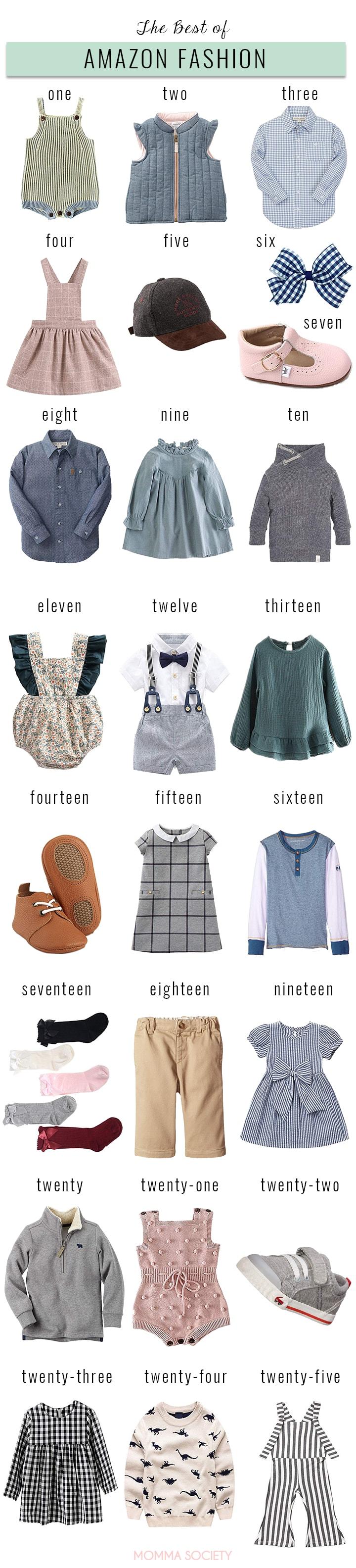 Baby & Toddler Amazon Fashion Haul — Momma Society