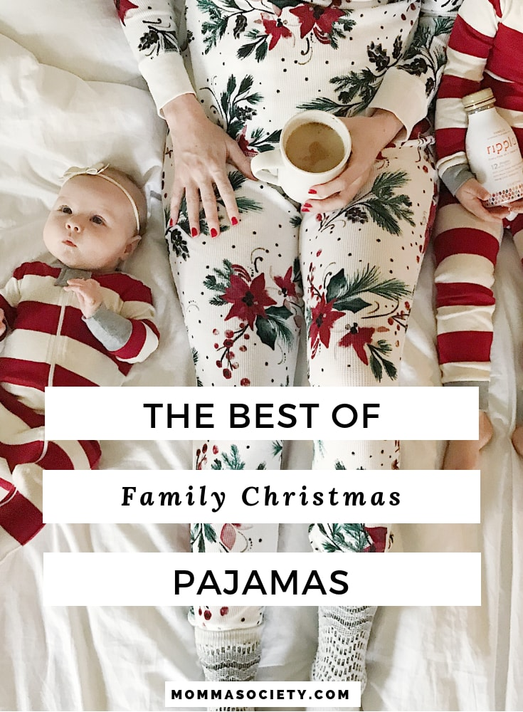 The Best of Holiday Pajamas for the Family