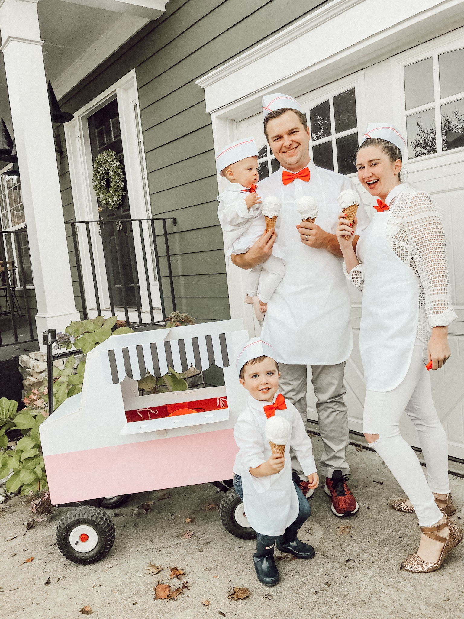 Ice Cream truck family Halloween Costume