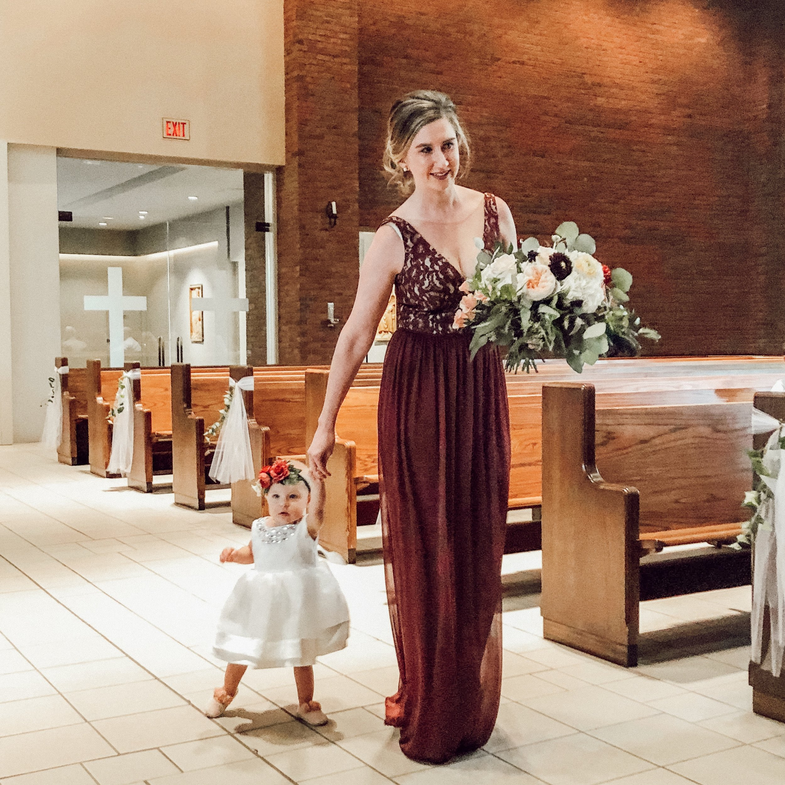 baby wedding stlyle | Motherhood style