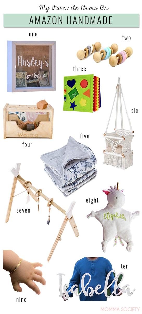 My Favorite Items on Amazon Handmade | Momma Society