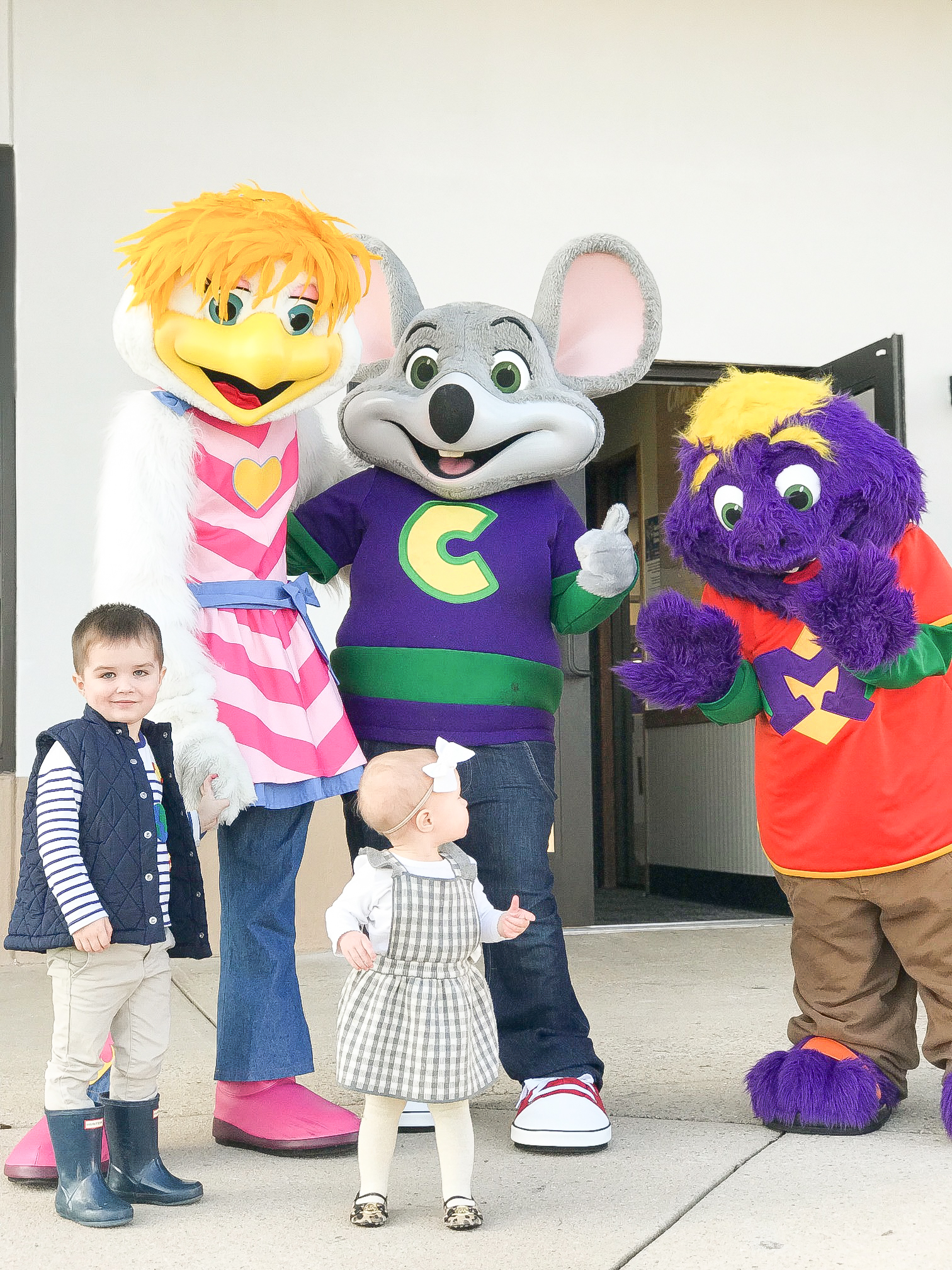 Chuck E Cheese's Greenville Rennovation