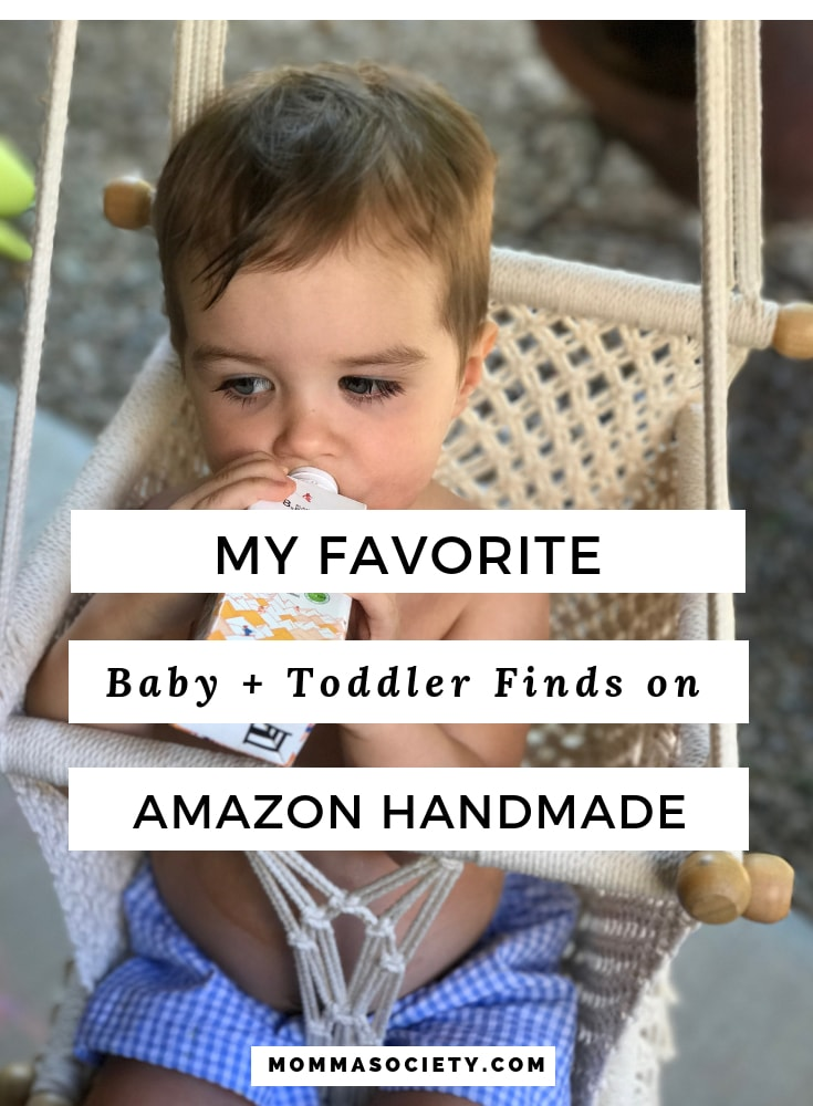 The Best of Baby + Toddler Items on Amazon Handmade | Momma Society