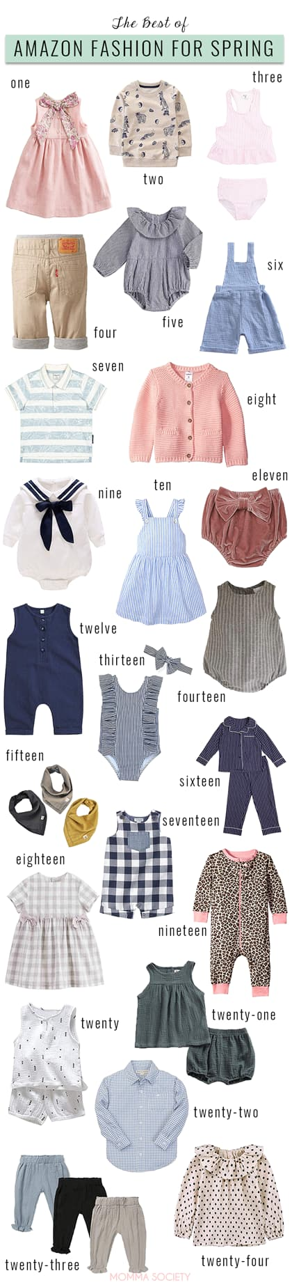 The Best of Spring Items for Toddlers + Babies on Amazon Fashion | Momma Society